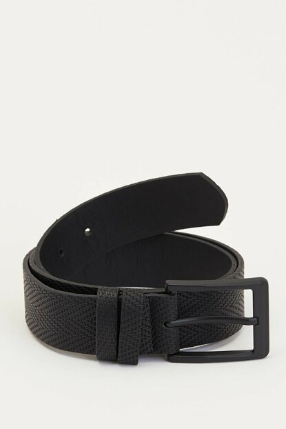 Men's Black Basic Belt M4106AZ.19WN.BK23