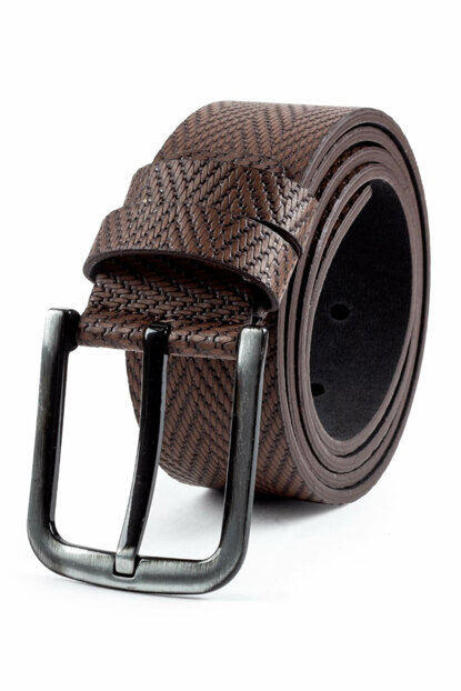 Men's Brown Belt - Km16012-156 KM16012-156