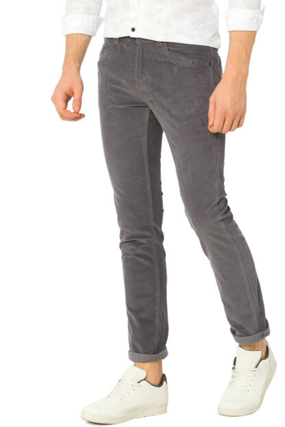Men's Gray Trousers 7K6066Z6