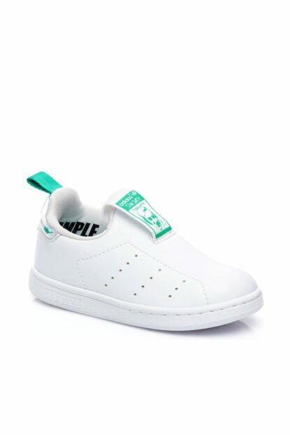 Unisex Child Stan Smith White Sneaker AQ1112 AQ1112-S