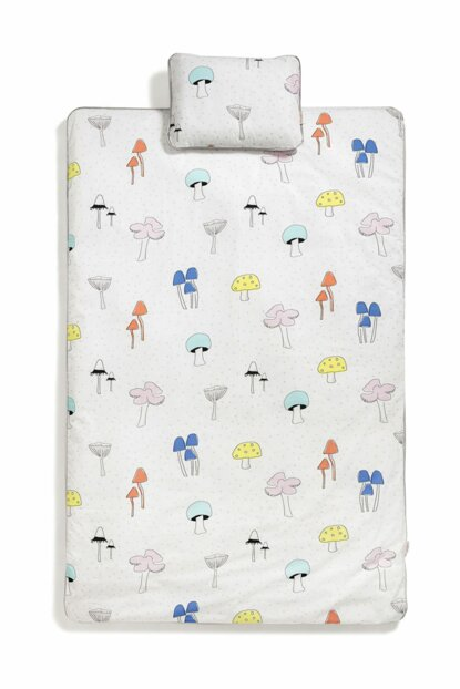 Funky Funghi Baby bedding set CRCDLY005