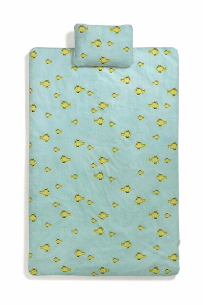 Yellow Box Fish Baby bedding set CRCDLY008