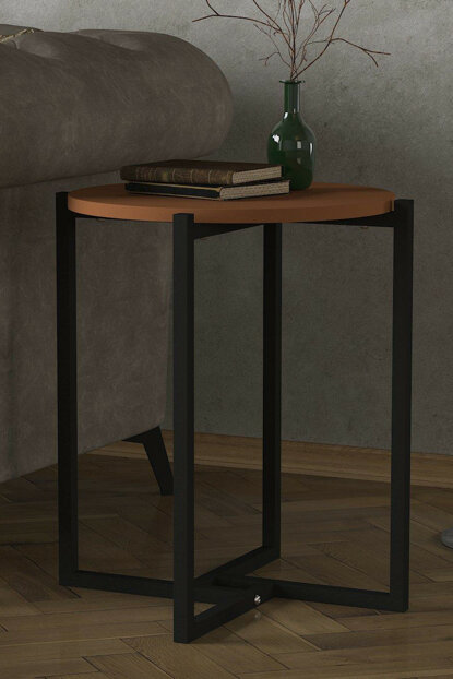 Exclusive Noce Iron Side Table Ginger 8681506225412