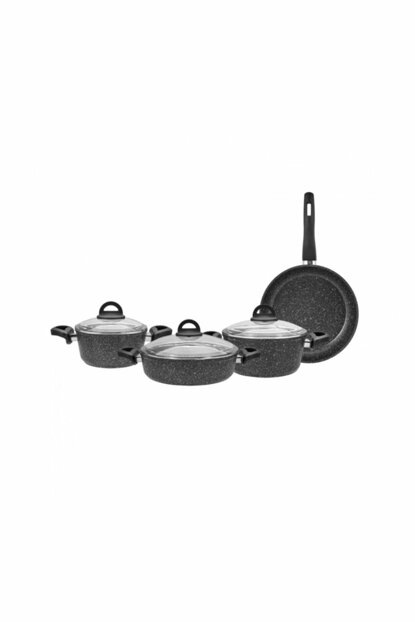 Marina Bio Granite 7 Pieces Cookware Set 153.03.07.8409