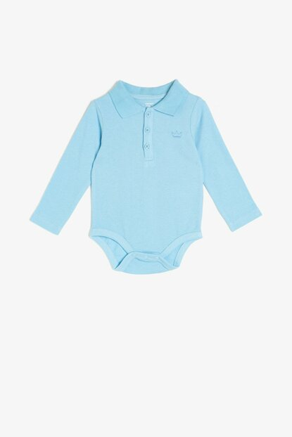 Baby Boy Cycling Collar With Zippers 0KNB10013GK