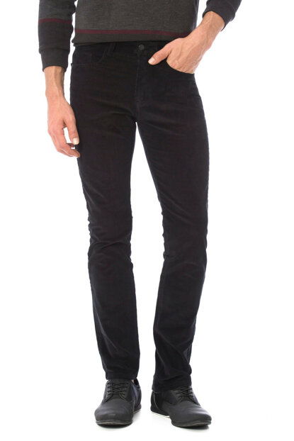 Men's Black Trousers 7K5503Z8