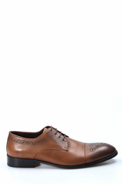 Genuine Leather Taba Men's Classic Shoes 1849955