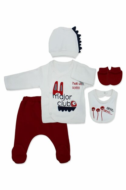 Major Club Red 5 Li Baby Set K2664