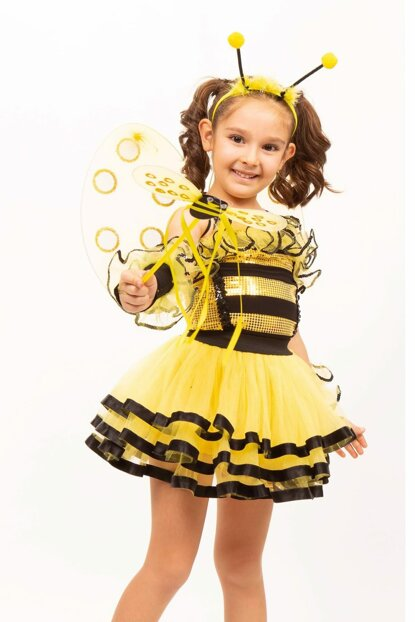 Bee Missbzz 2 Age Girl Costume ST00031-1