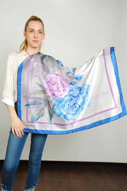 Women Multi Color Sport Polyester Scarf 9351190