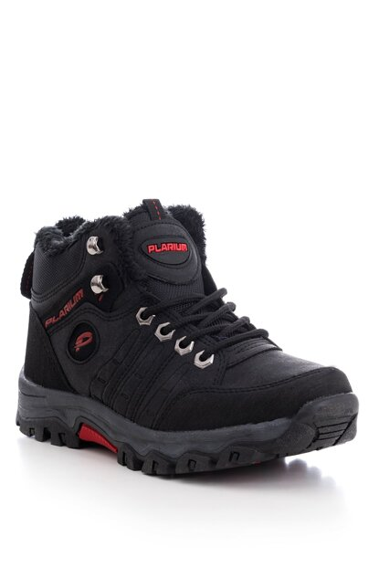 Black Red Women's Boots PL3020-1
