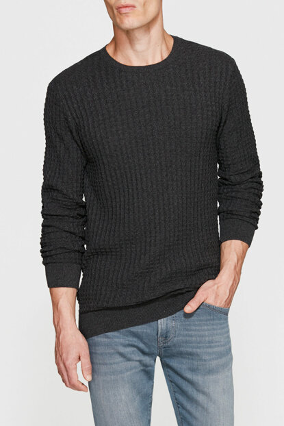 Men's Gray Sweater 070490-26833