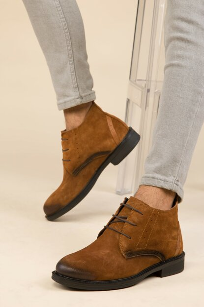 Taba Men's Boots 2879 Genuine Leather