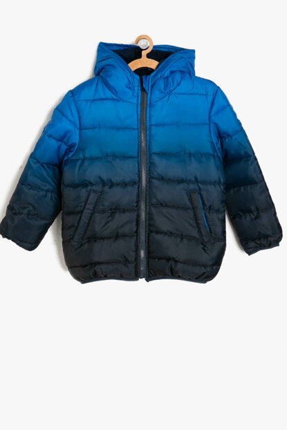 Blue Boy Hooded Jacket 9KKB26507OW