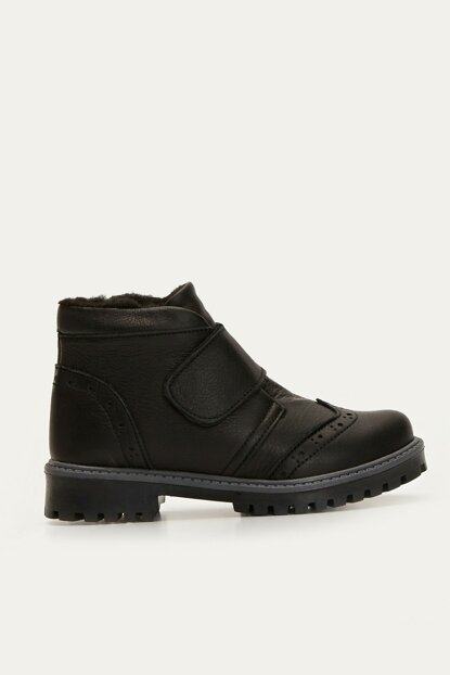Boys Black Huc Boots 9W8490Z4