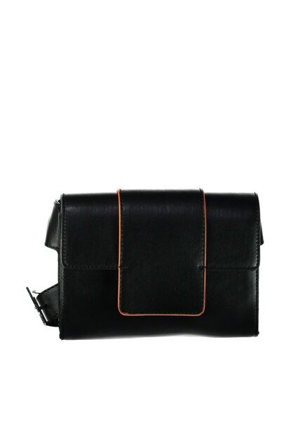 Black Orange Women's Handbag 03CAH126060A105