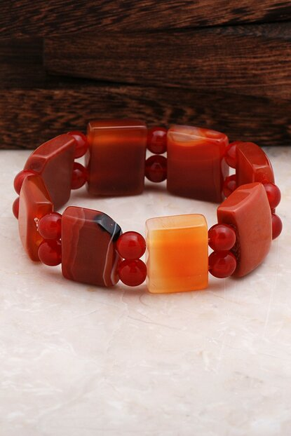 Agate Bracelet with Stone 3218 MBL3218