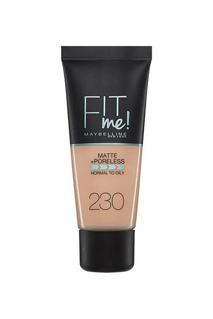 Matte Foundation - Fit Me Matte + Poreless Foundation 230 Natural Buff 30 ml 3600531324568 FP502342N_FG