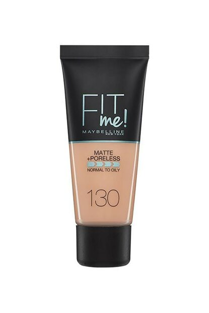 Matte Foundation - Fit Me Matte + Poreless Foundation 130 Buff Beige 30 ml 3600531324544 FP502342N_FG