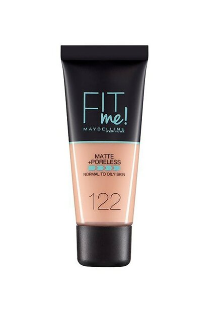 Matte Foundation - Fit Me Matte + Poreless Foundation 122 Creamy Beige 30 ml 3600531369453 FP502342N_FG