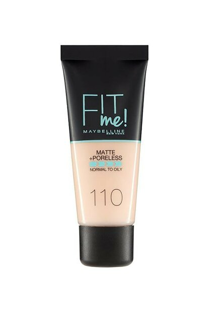 Matte Foundation - Fit Me Matte + Poreless Foundation 110 Porcelain 30 ml 3600531324506 FP502342N_FG