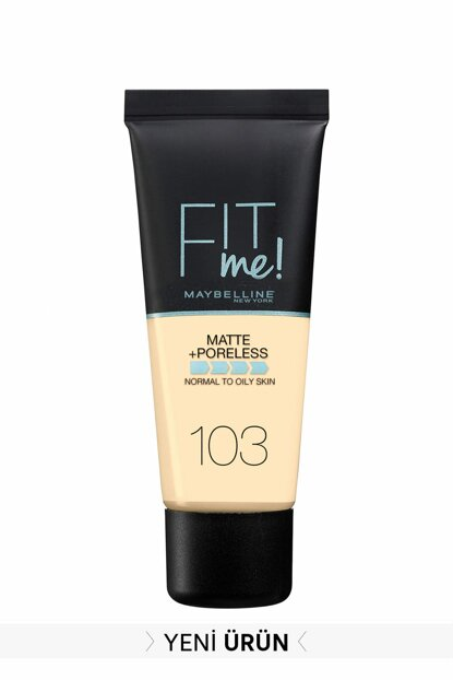 Matte Foundation - Fit Me Matte + Poreless Foundation 103 Pure Ivory 3600531544782 FP502342N_FG
