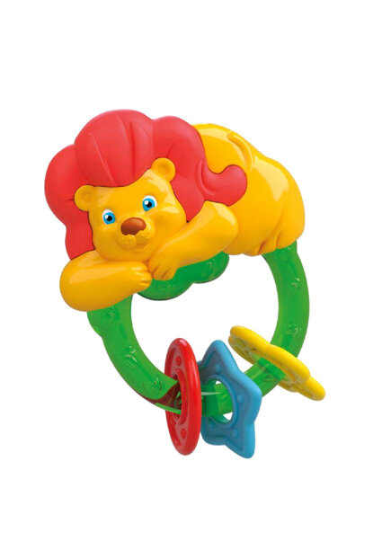 Baby Clementoni Teether Lion Rattle CLE17049