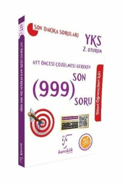 Required Pre-AYT last 999 Solving Questions Verbal 0001802870001