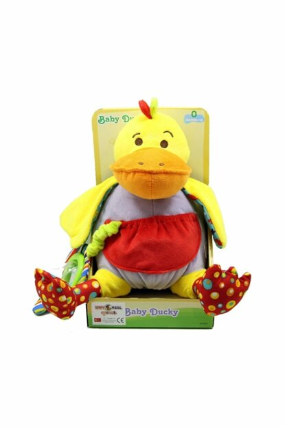 Duck with Rattle Teether 81029