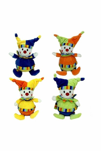 Rattles Clown Colored 23675
