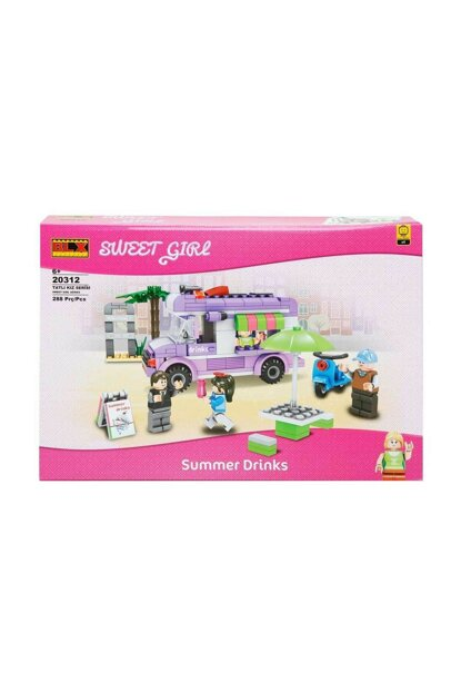 Production Set: Girl Play Set 20312 - Sweet Girl Series 288 Pieces S00001837-39199