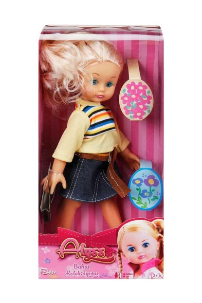 Alyss Baby Spring Collection - Yellow Hair - Denim Skirt S00036008-7702
