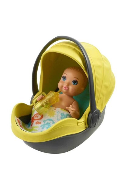 Baby Sitting Play Set FXG94 - Yellow Car T000FXG94-39624