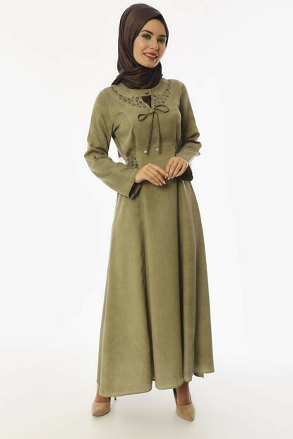 Women's Green Sensual Dress 3502