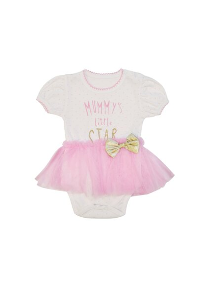 Pink Mummy'S Little Star Printed Body Body VIPPEMBE03