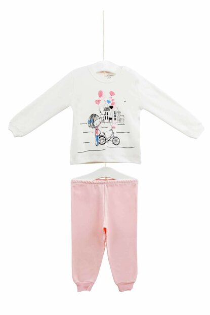 Ecru Baby Girl Set of 2 AZZ009405