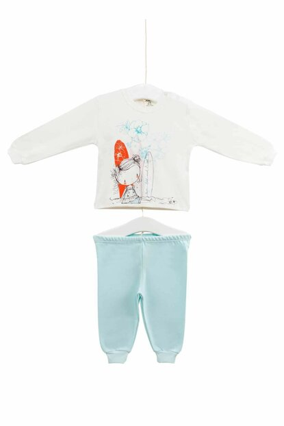 Ecru Baby Girl Set of 2 AZZ009407