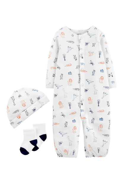 Layette Baby Boy Set of 3 - HSÇ 126H557