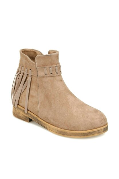 Beige Girls' Boots 000000000100338644