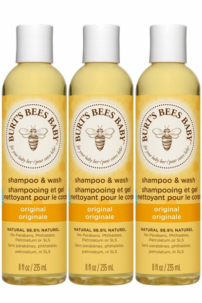 Baby Bee Shampoo Body Wash 3 x 235 ml 792850727333