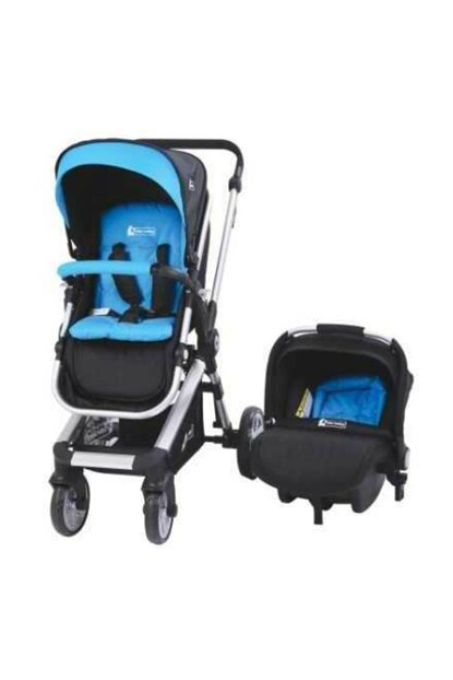 Star Baby Rabbit Two Way Travel System Baby Stroller Blue T38081