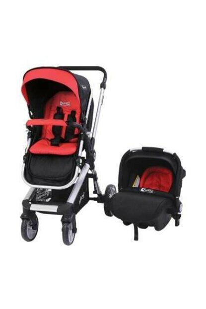 Star Baby Rabbit Two Way Travel System Baby Stroller Red T38079