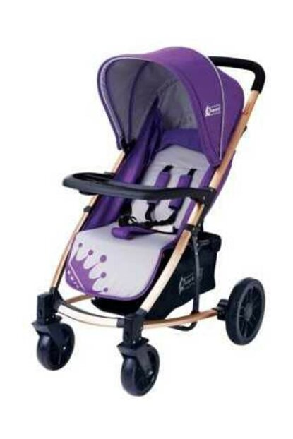 Star Baby King Stroller Purple T38062