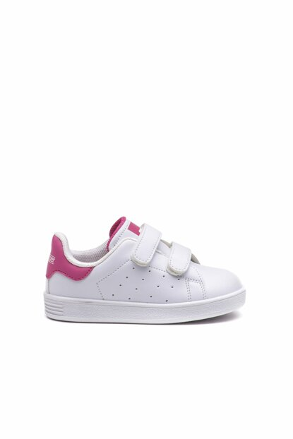 White / Pink FUAT Casual Wear Kids Shoes White / Pink SA19LB007