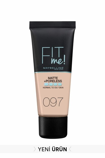 Matte Foundation - Fit Me Matte + Poreless Foundation 97 Natural Porcelain 3600531549374 FP502342N_FG