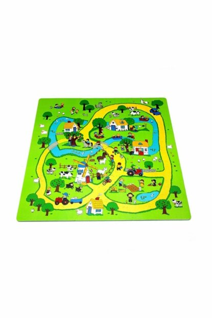 Play Rugs 9 Piece Farm