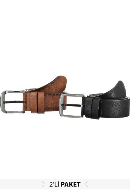 Multicolor Men's Artificial Leather Belt TMNAW20KE0026