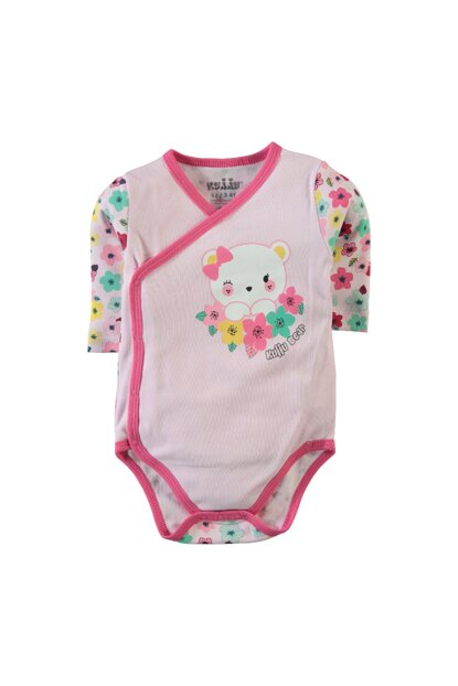 Pink Baby Girl Snap Fastener Body E95877752SS2
