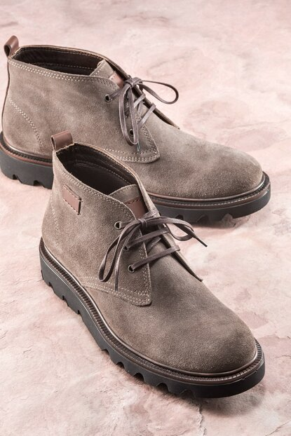 JJOE Genuine Leather Mink Men Boots 19KSA8800