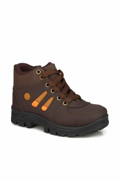Brown Unisex Children's Boots & Bootie 1143517